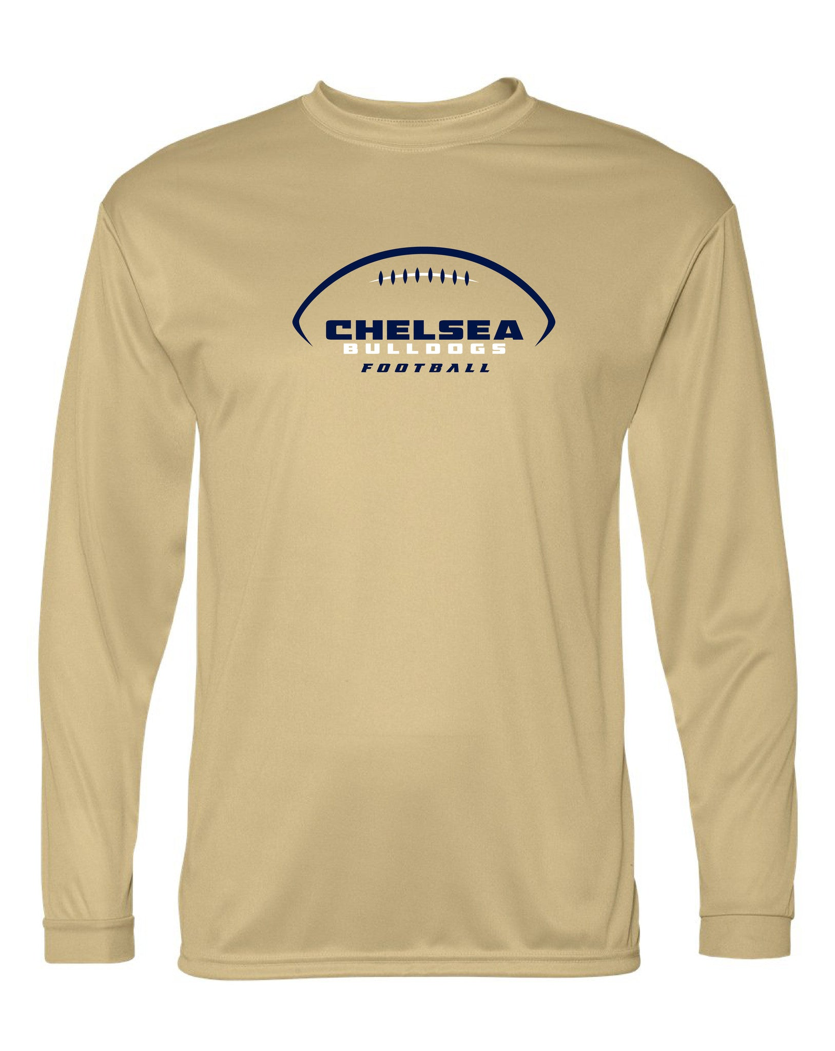 Youth Chelsea Football Long Sleeve Performance Shirt - D009