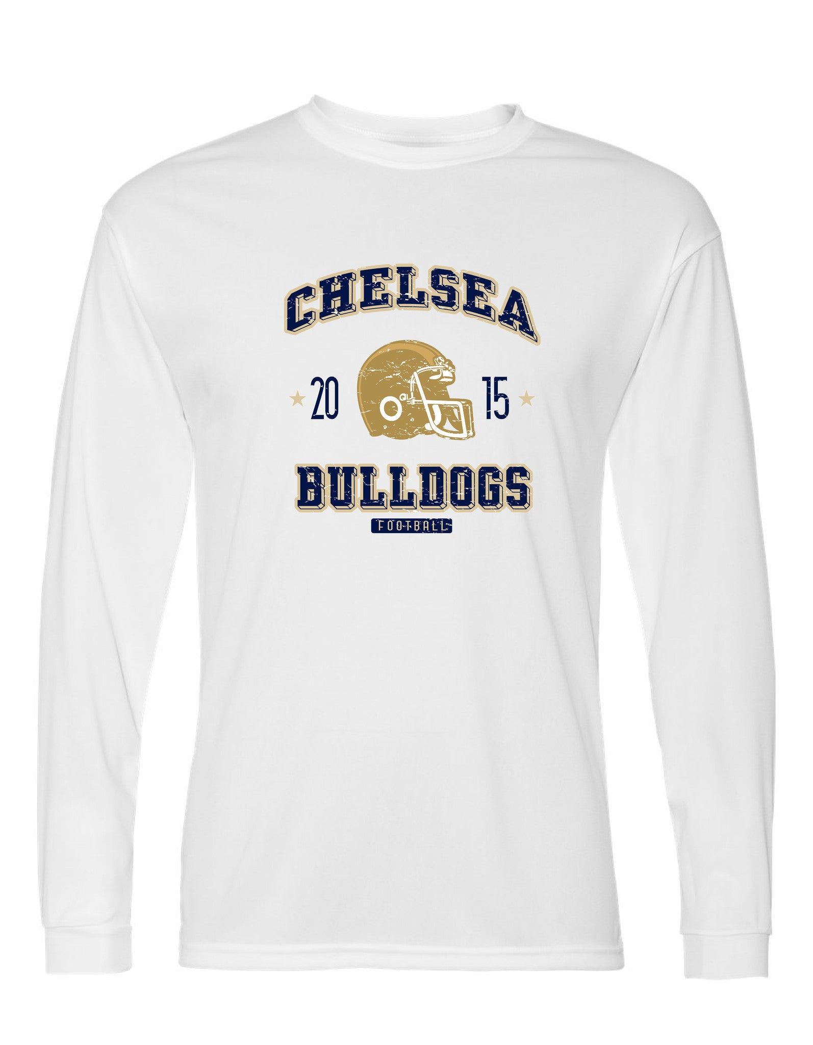 Youth Chelsea Football Long Sleeve Performance Shirt - D006