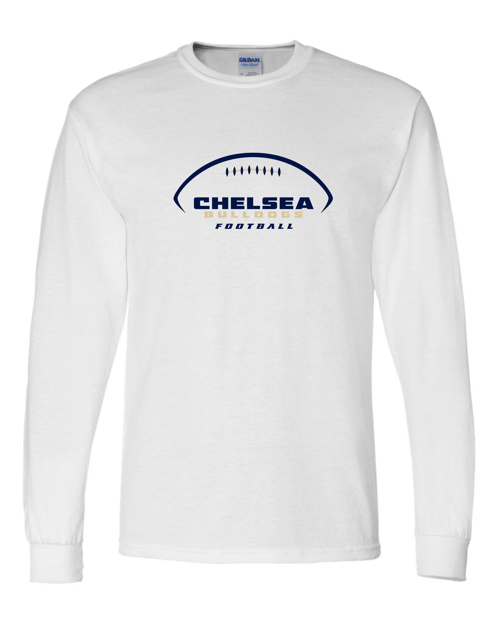 Youth Chelsea Football Long-Sleeve Shirt - D009