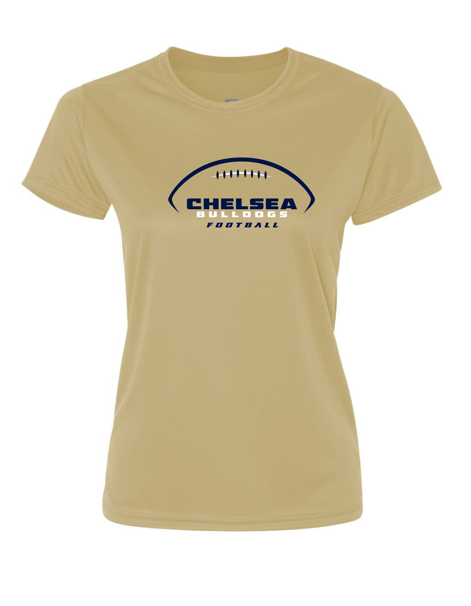 Ladies Chelsea Football Performance Shirt - D0009