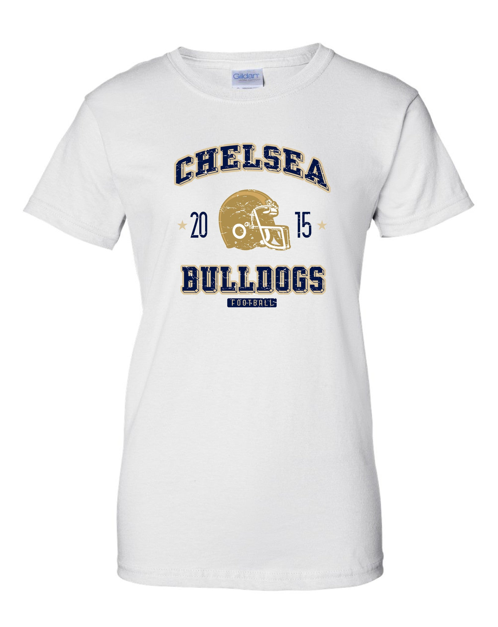 Ladies Chelsea Football T-Shirt - D006