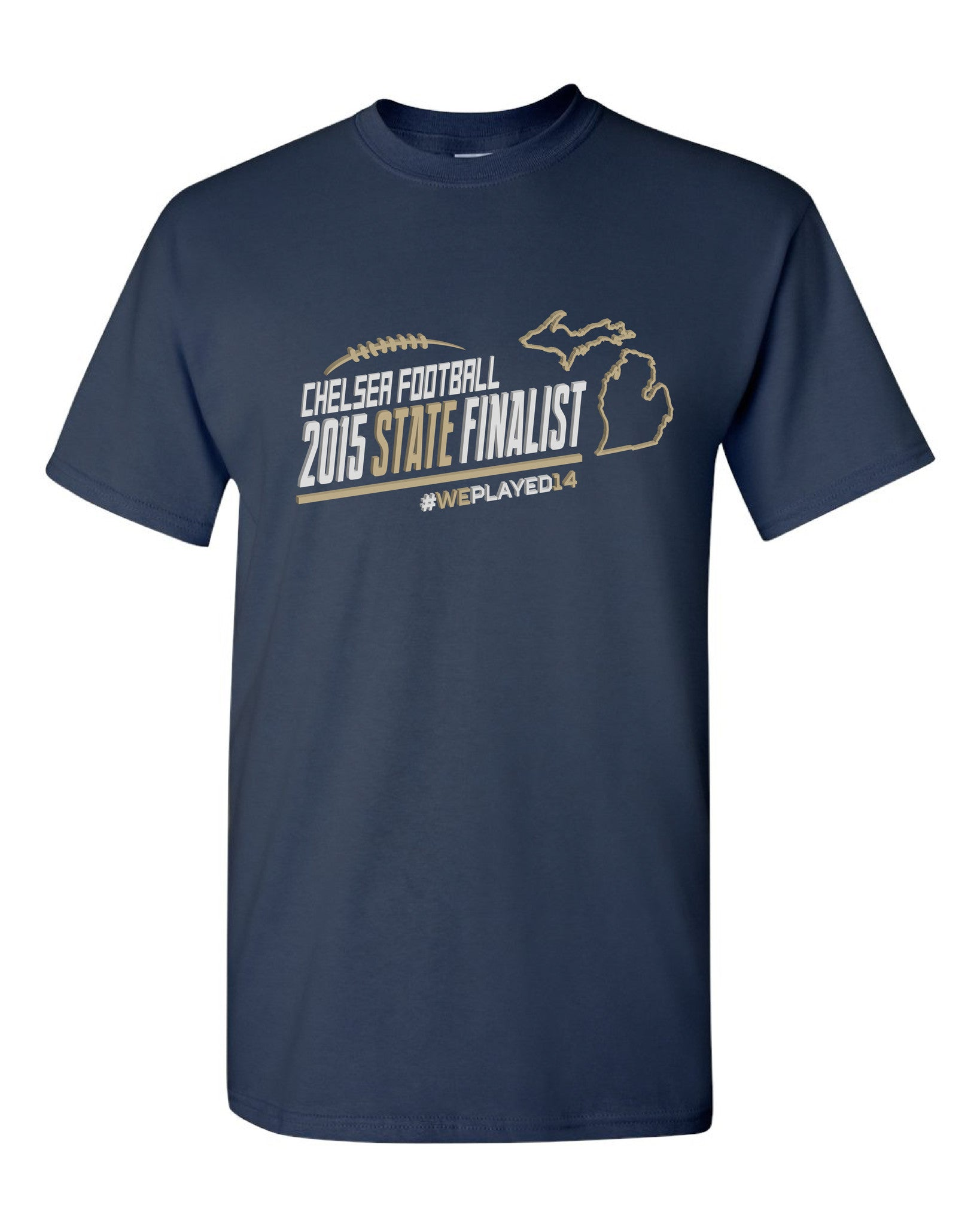 Adult Chelsea Football State Finalist T-Shirt - D001
