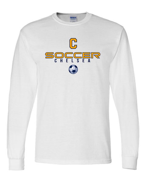 Adult Chelsea Soccer Long-Sleeve Shirt - D009