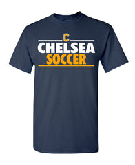 Youth Chelsea Soccer Cotton T-Shirt - D001
