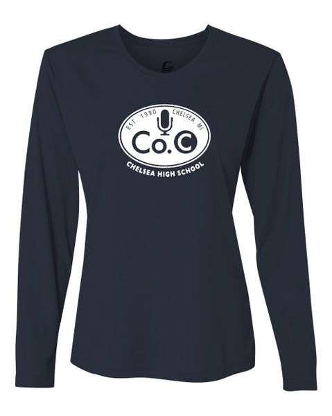 Ladies Company C Long Sleeve Performance Shirt