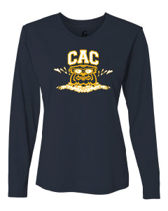 Ladies CAC Long Sleeve Performance Shirt