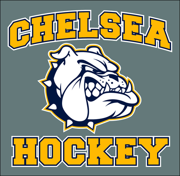 Chelsea Hockey Window Cling