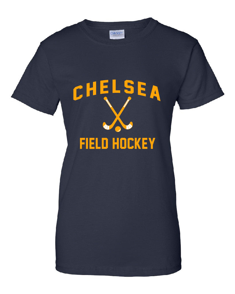 Ladies Field Hockey Cotton T-Shirt - D002