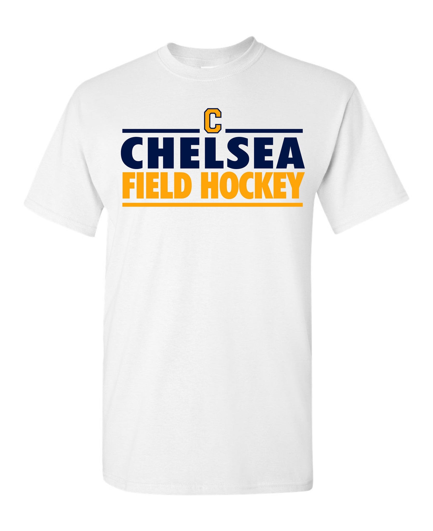 Adult Field Hockey Cotton T-Shirt - D001
