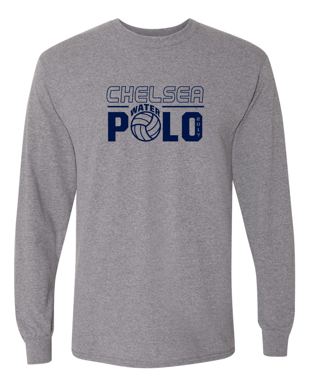 Adult Chelsea Water Polo Long Sleeve T-shirt