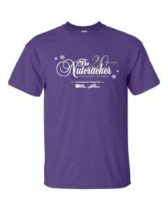 Adult Ballet Chelsea Nutcracker T-shirt - Purple