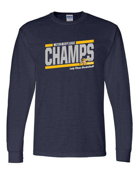 Lady Titans Basketball CHAMPS Shirt