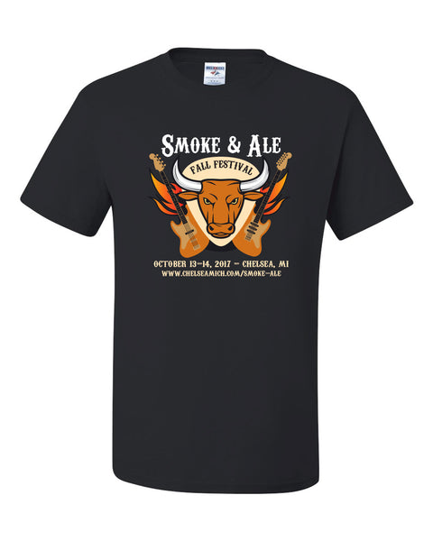 2017 Smoke & Ale T-shirt