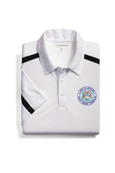 Adult MLCC Colorblock Performance Polo