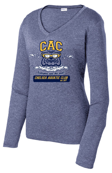 Ladies CAC Winter Season Long Sleeve Performance Shirt