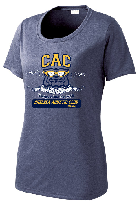 Ladies CAC Winter Season Short Sleeve Performance Shirt