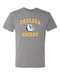 Adult Chelsea Hockey Tri-Blend T-shirt - SUPER SOFT