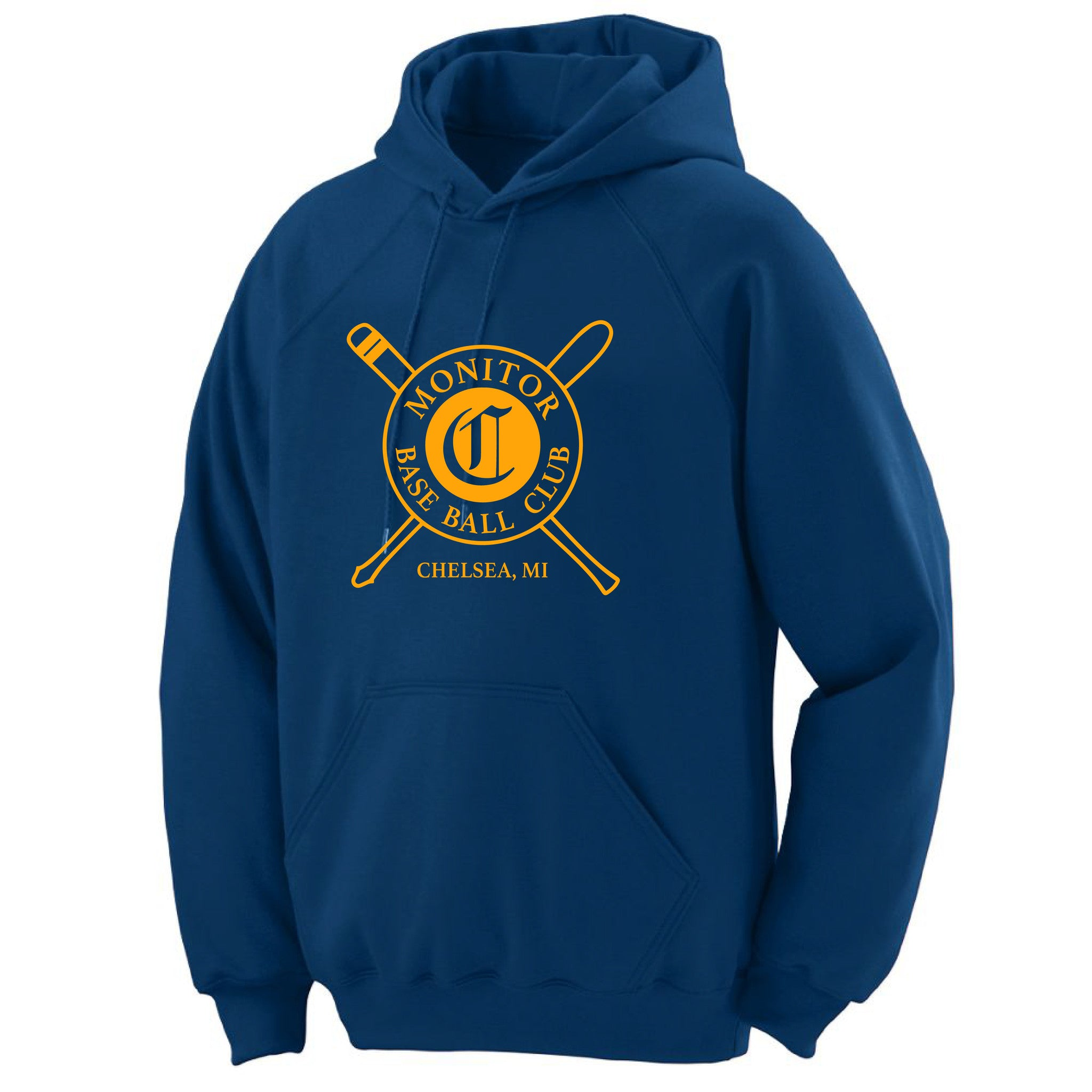 Adult Chelsea Monitors Fleece Navy Hoodie