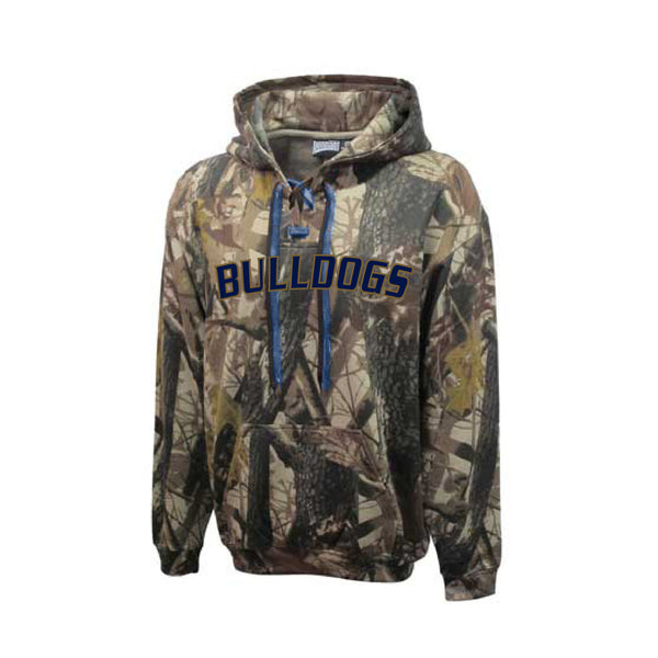 Adult Chelsea Bulldogs Camo Hoodie