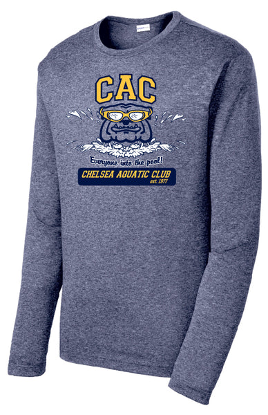 Adult CAC Winter Season Long Sleeve Performance Shirt