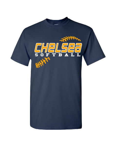 Adult Softball Cotton T-Shirt - CB001