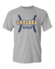 Adult Softball Cotton T-Shirt - CB002