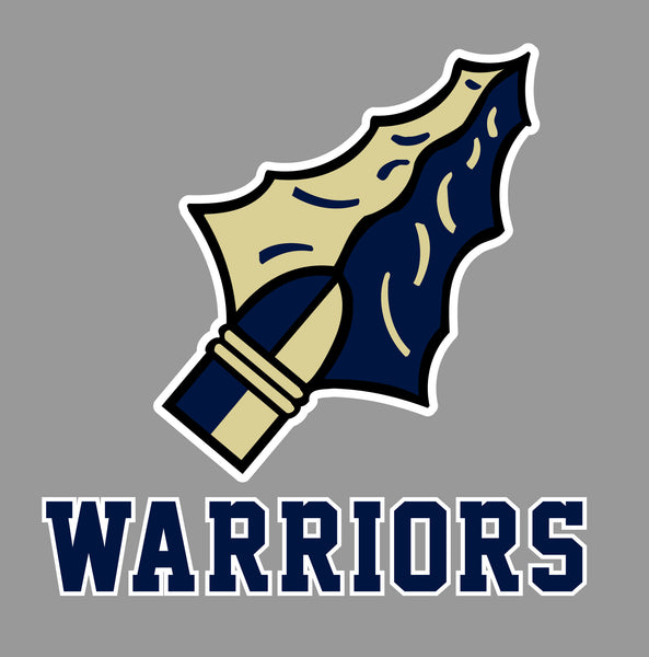 Grass Lake Warriors Car Decal - B