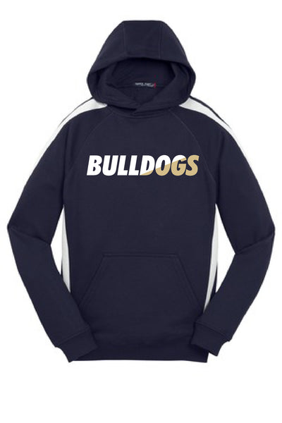 Youth Chelsea Bulldogs Striped Sport-tek Hoodie