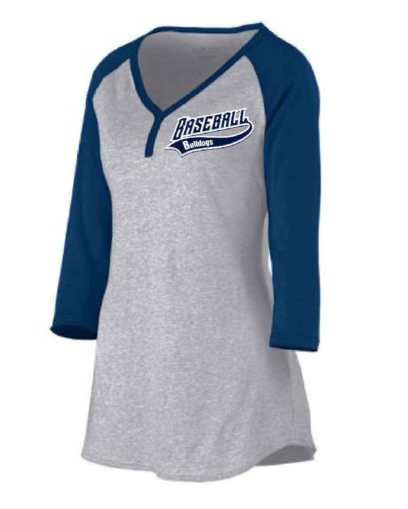 Ladies Rave Henley Shirt