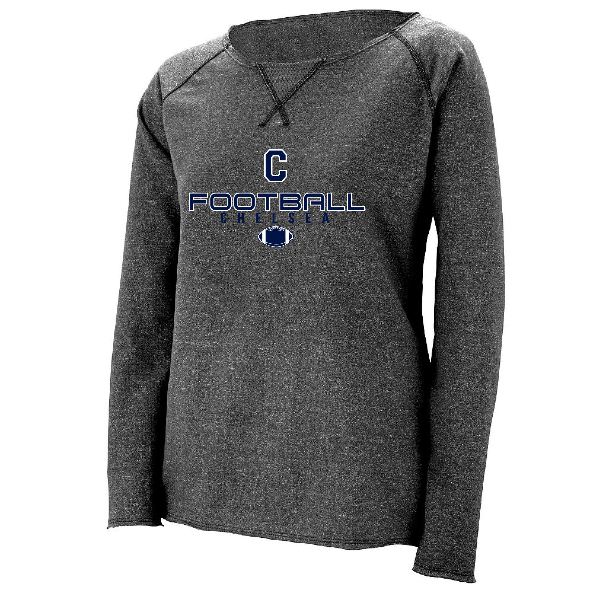 Ladies Chelsea Football French Terry Sweatshirt - Pick your Design