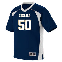 Adult Chelsea Bulldogs Football Replica Jersey - Navy