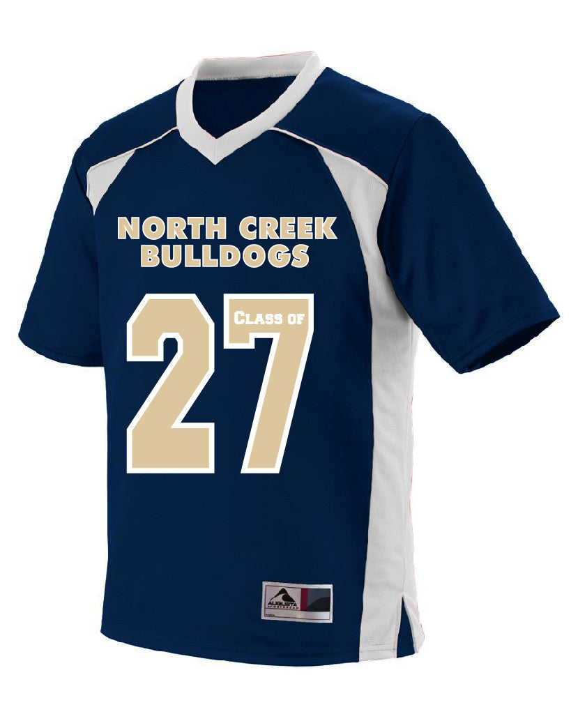 "Youth Class of ""    ""  North Creek Football Jersey"
