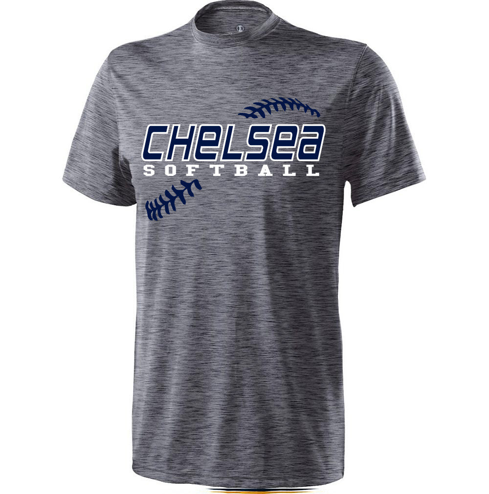 Youth Chelsea Softball Electrify Performance (Heather Grey)