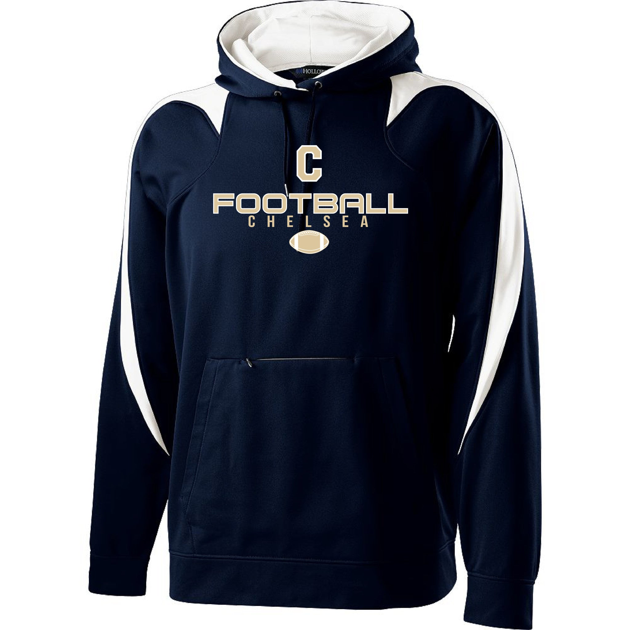 Adult Chelsea Football Chaos Performance Hoodie - Pick your Design