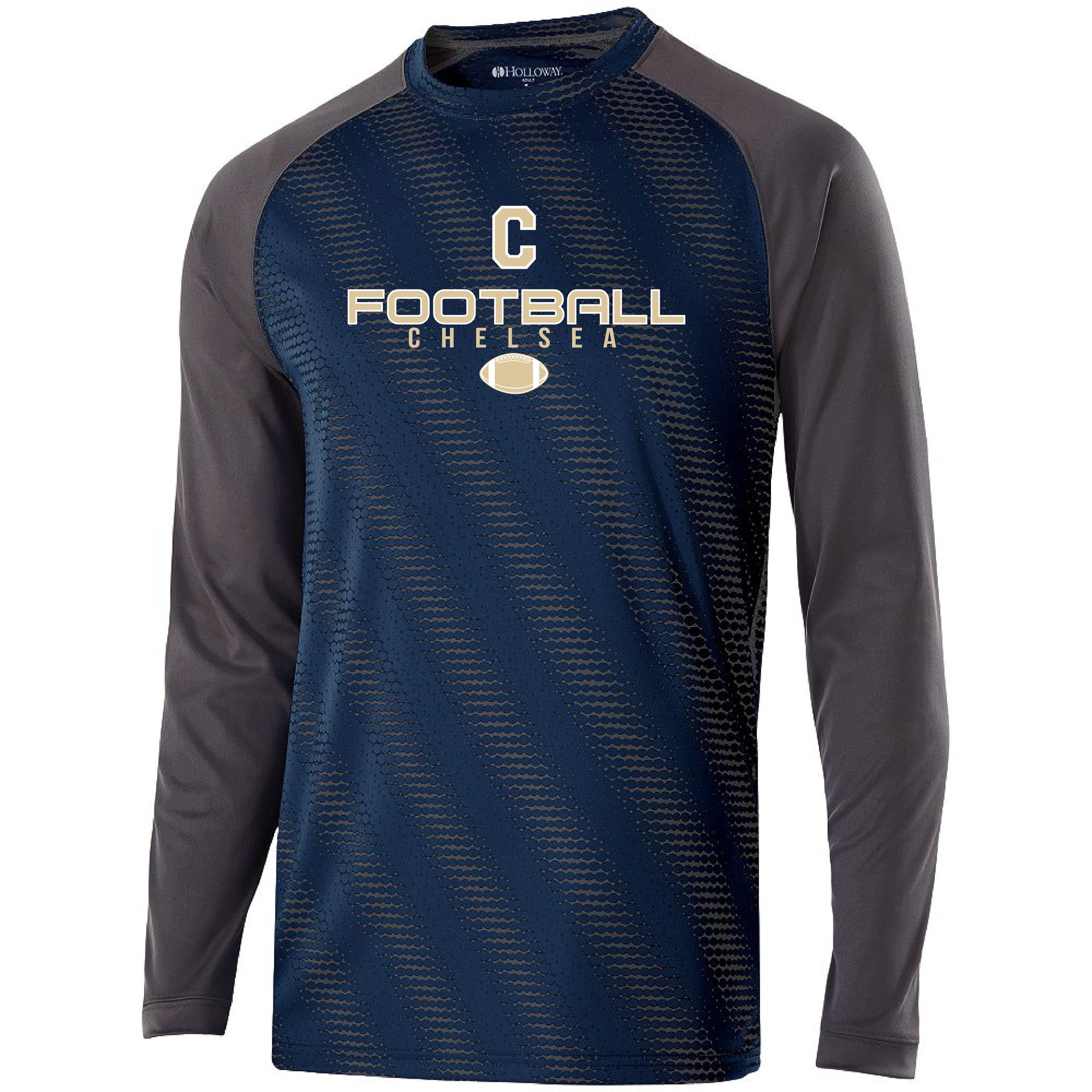 Youth Chelsea Football Torpedo Performance LS Shirt - Pick your Design