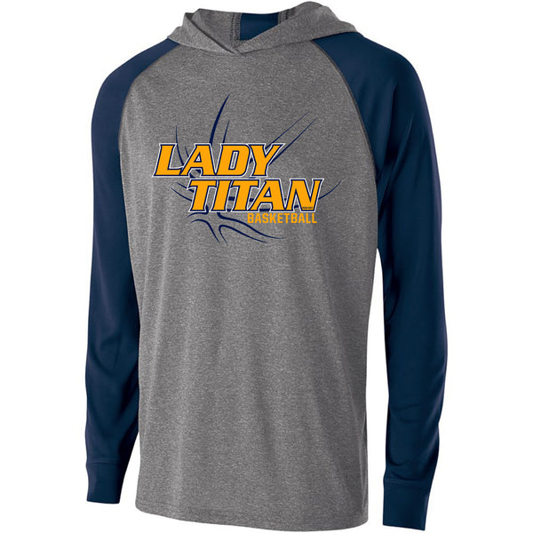 Adult Lady Titans Basketball Echo Hoodie