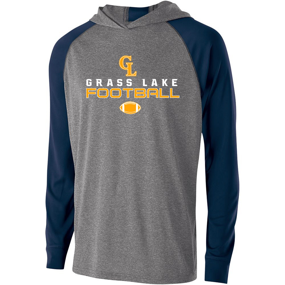 Adult Grass Lake Football Echo Hoodie