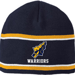 Grass Lake Warriors Engager Beanie - Navy/Gold