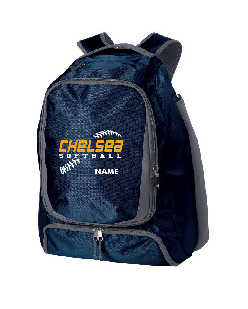Chelsea Bulldogs Softball Backpack