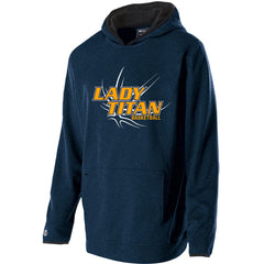 Adult Lady Titans Basketball Artillery Hoodie - Navy
