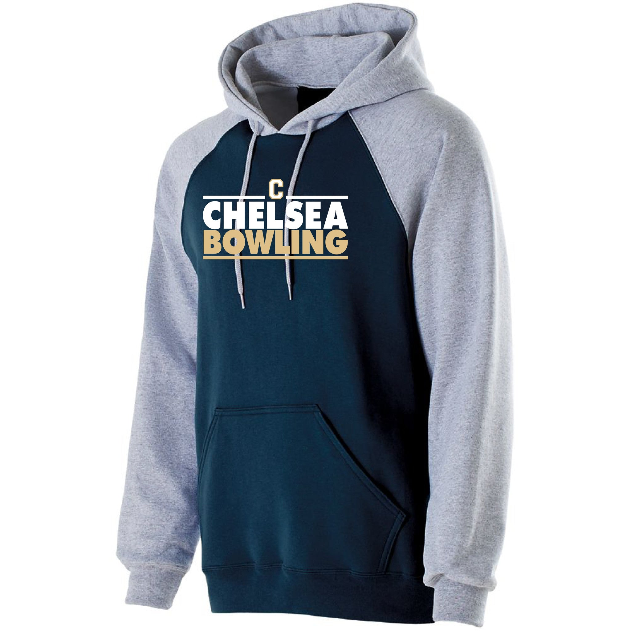 Adult Chelsea Bowling Banner Hooded Sweatshirt