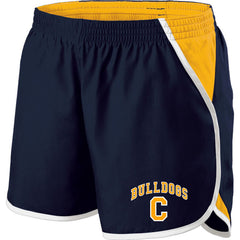 Ladies Chelsea Bulldogs Energize Shorts