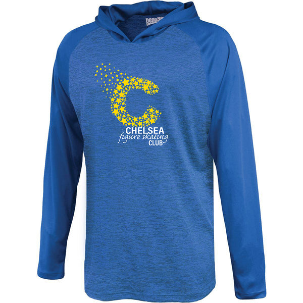Adult Chelsea Figure Skating Performance Shirt with Hood