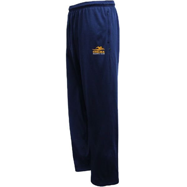 Adult CAC Performance Fleece Navy Pants - Logo1