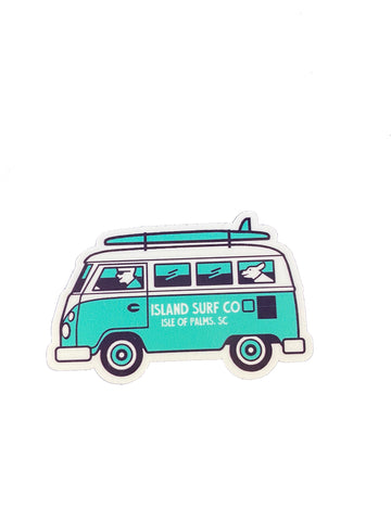 Mini Surf Van Sticker