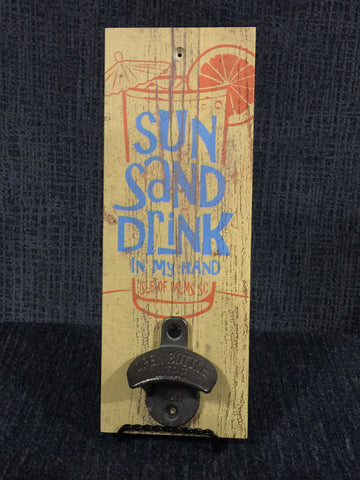 Vintage inspired bottle opener