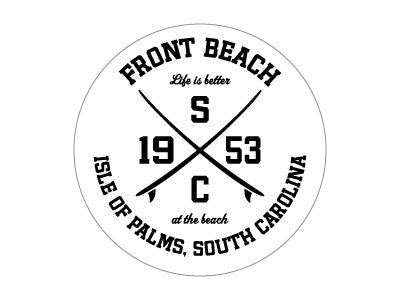 Decal IOP Front Beach 1953 SC