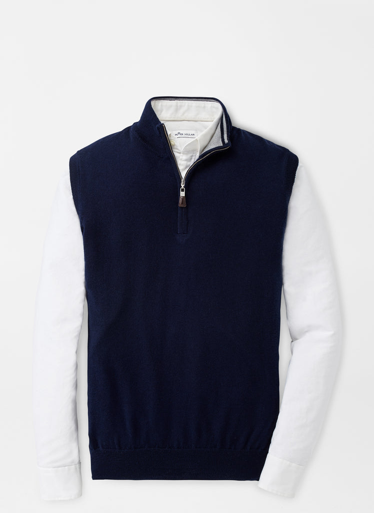CROWN SOFT 1/4 ZIP VEST MF19S54