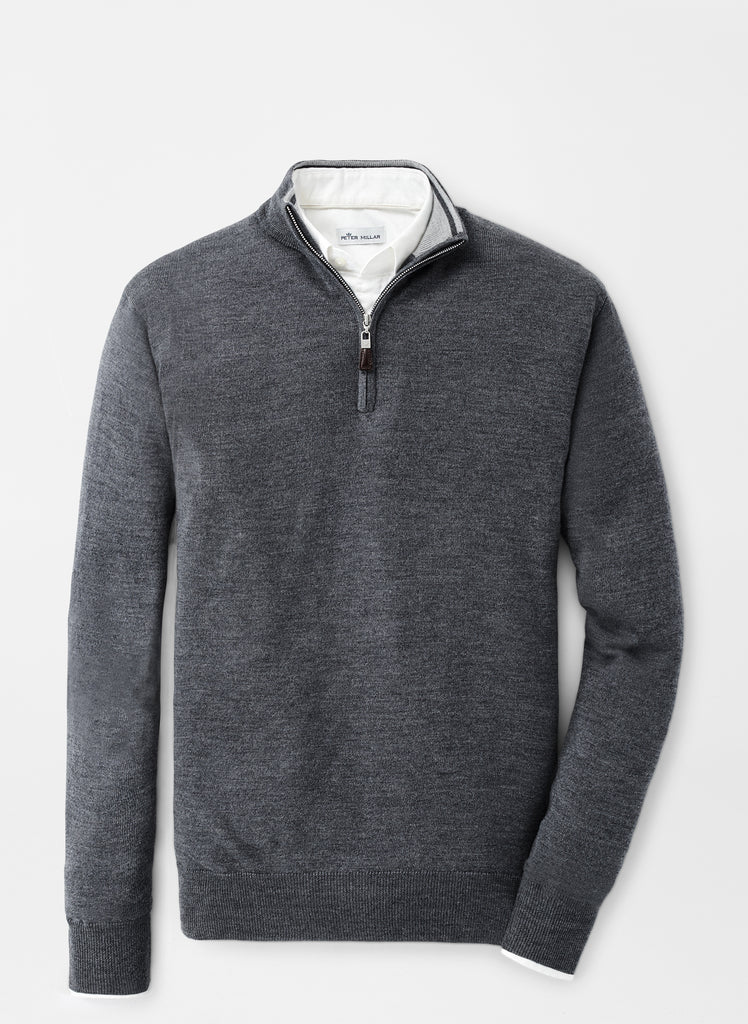 CROWN SOFT 1/4 ZIP SWEATER MF19S52