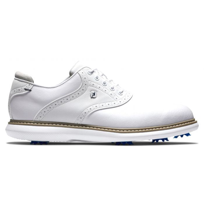 Foot Joy Traditions Golf Shoes - White 57903